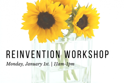 Skip into 2018 Reinvent ME workshop 1st Jan