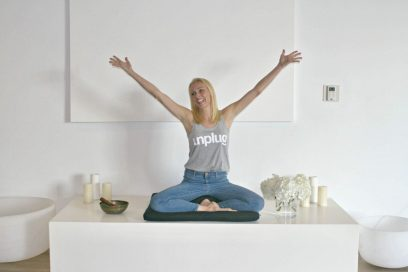 Unplug and meditate with me in your own home